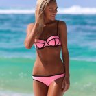 Купальник NEOPRENE TRIANGL MILLY - CANDY PINK светло розовый